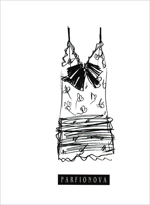 Мода. Платье. Блокнот для записей.