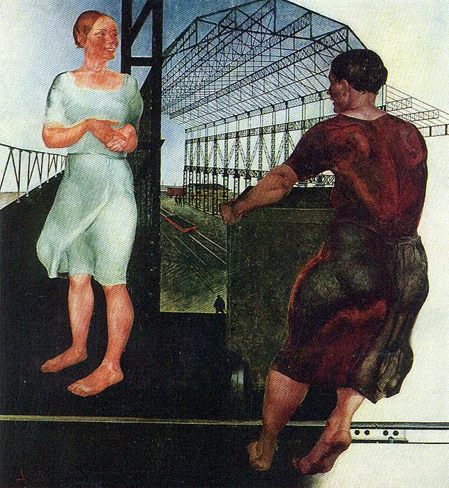 Советская русская живопись первого октябрьского десятилетия
