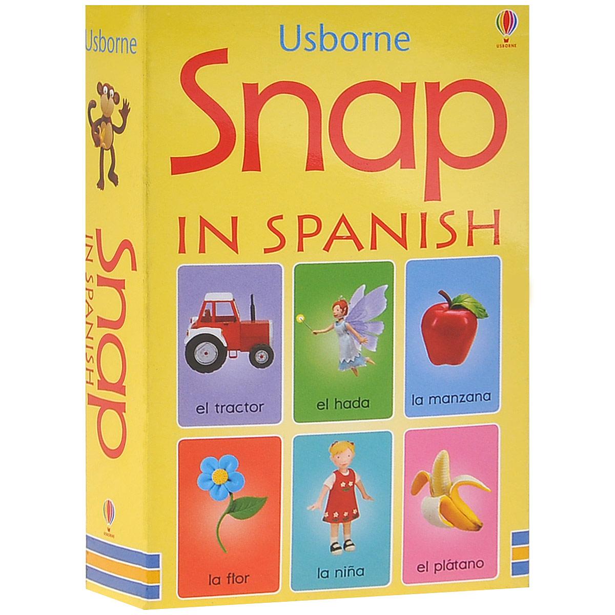 Snap in Spanish (набор из 50 карточек)