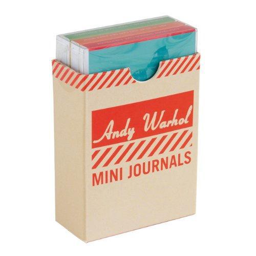 Andy Warhol: 3 Mini Journal