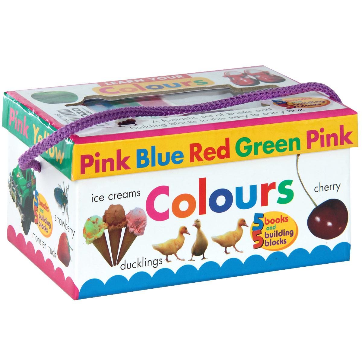 Learn Your Colours (комплект из 5 книг + 5 игровых блоков)