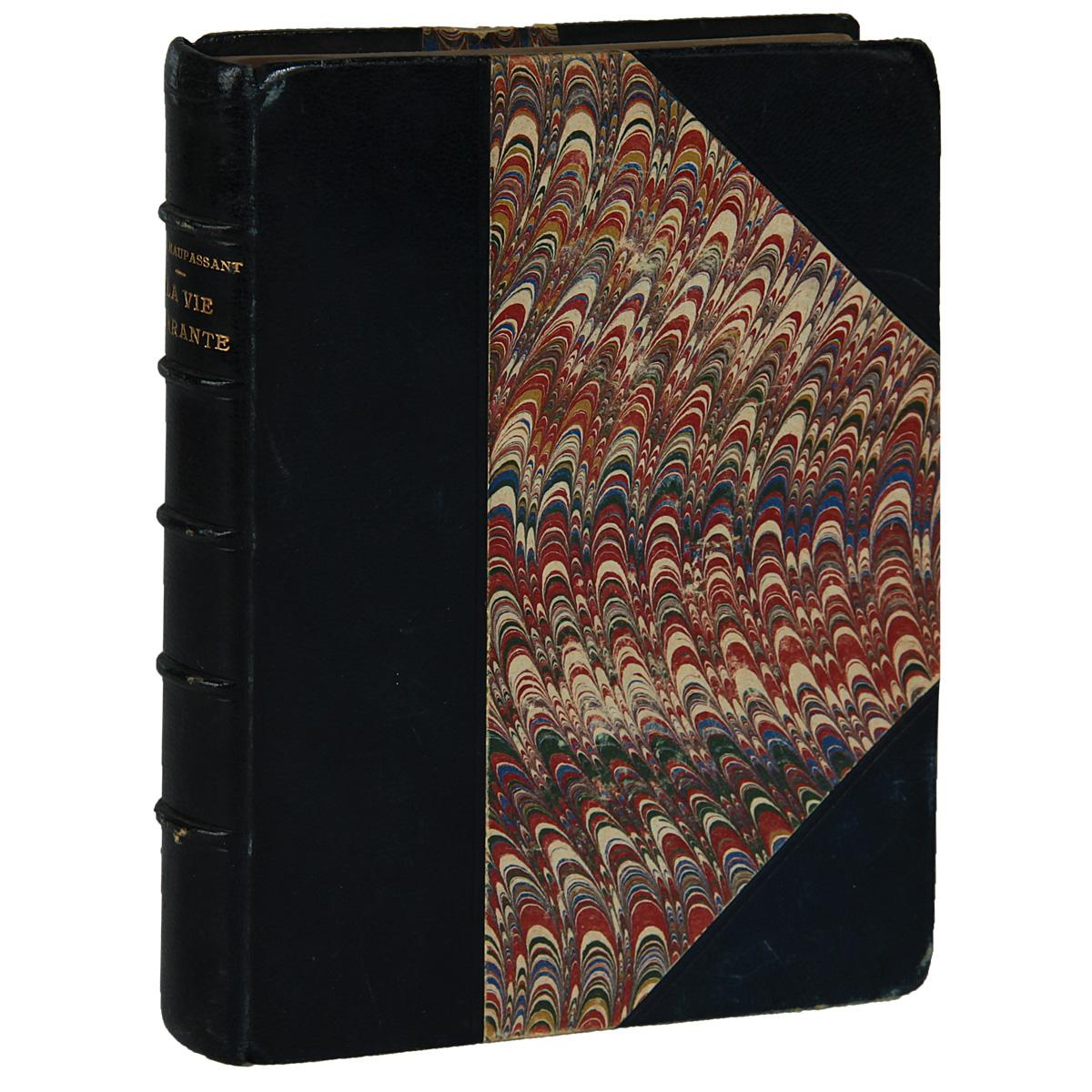 Бродячая жизньART-1170303Париж, 1903 год, Societe DEditions Litteraires et Artistiques. Иллюстрированное издание на французском языке. Владельческий переплет. Сохранность хорошая. В Бродячей жизни любимые краски Мопассана - синяя, белая, черная. Его описания - это и Делакруа и Матисс одновременно. Ухо у него чуткое. Правда, он более чувствителен к ритму и шуму, нежели к мелодии. У него отлично развитое обоняние - настоящий нюх сеттера. Вкус и осязание также весьма развиты. Воистину он богато одарен от природы силой восприятия. Так что, отправившись по его стопам в Италию, на Сицилию, в Марокко или Тунис, мы окажемся также переполнены впечатлениями, как и он. Издание не подлежит вывозу за пределы Российской Федерации.