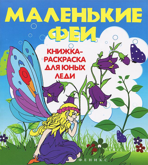 Маленькие феи. Книжка-раскраска для юных леди