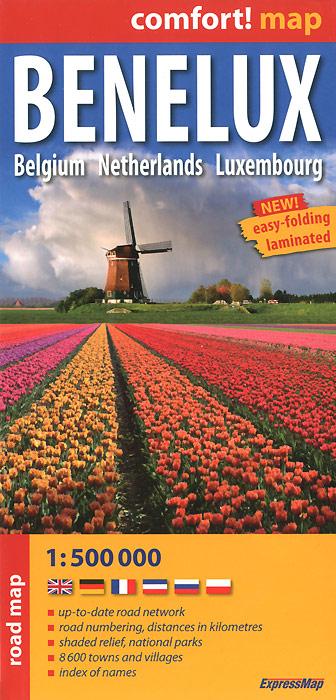Benelux: Belgium: Netherlands: Luxembourg: Road Map.