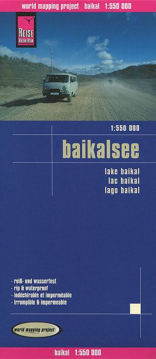 Baikalsee. Карта.