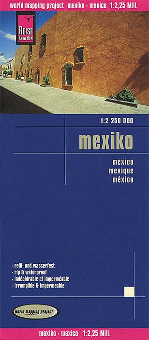 Mexico. Карта.