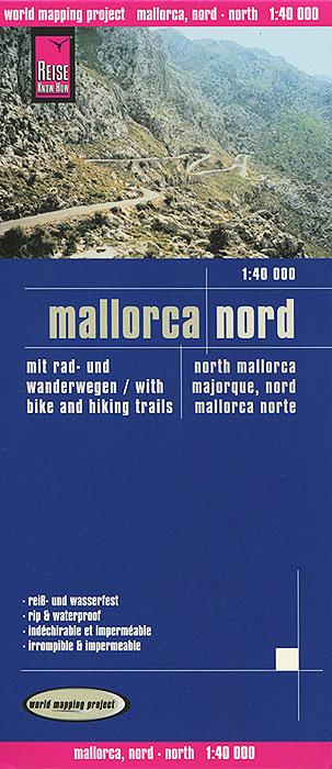 Mallorca. Nord. Карта.