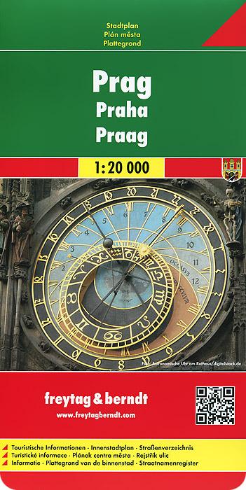 Prague: City Map.