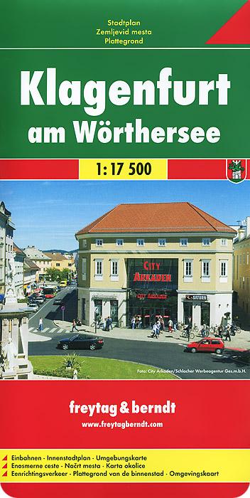 Klagenfurt am Worthersee: City Map