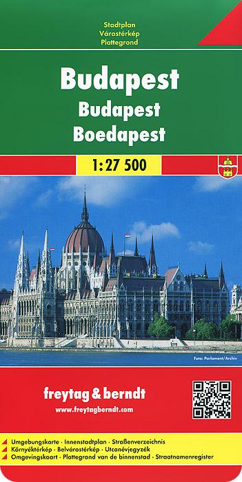 Budapest: City Map.