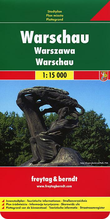 Warsaw: City Map.