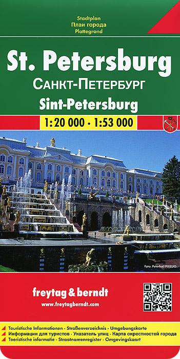 Санкт-Петербург. Карта.