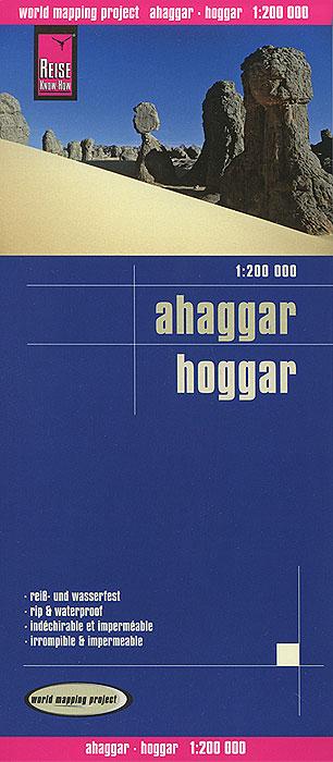 Ahaggar. Карта