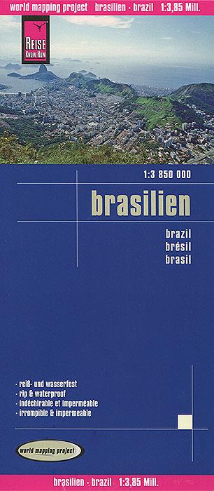 Brasilien. Карта.