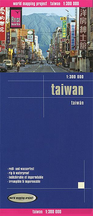 Taiwan. Карта.