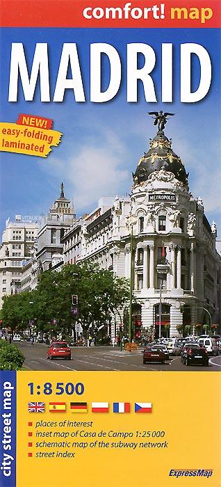 Madrid: City Map.