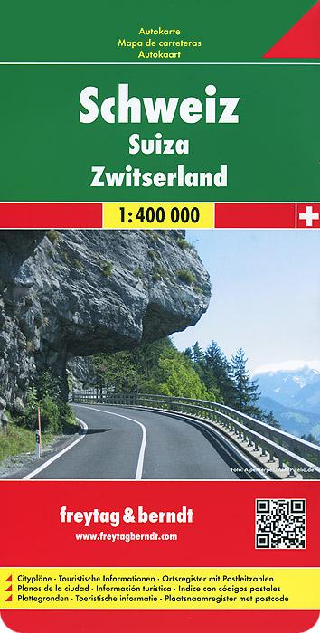 Switzerland: Road Map.