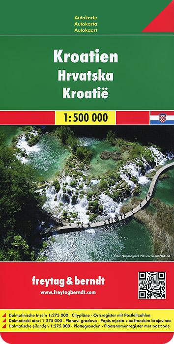 Croatia: Road Map.