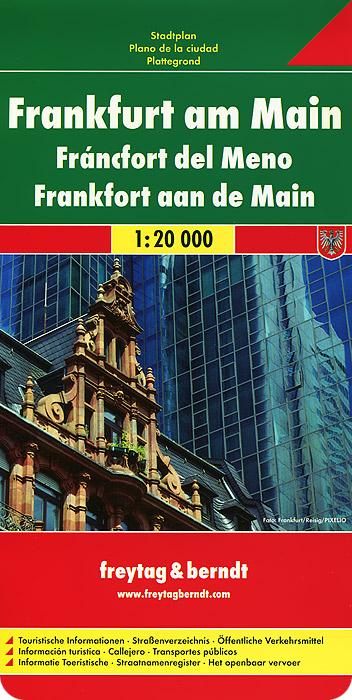 Frankfurt am Main: City Map