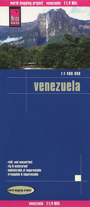 Venezuela. Карта.