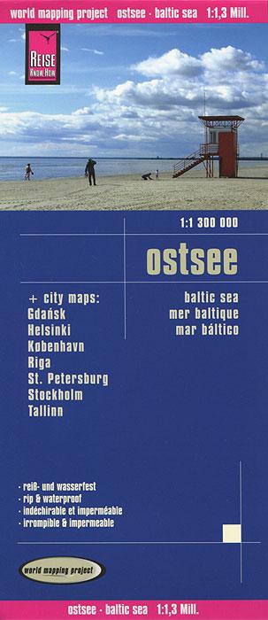 Ostsee. Карта.