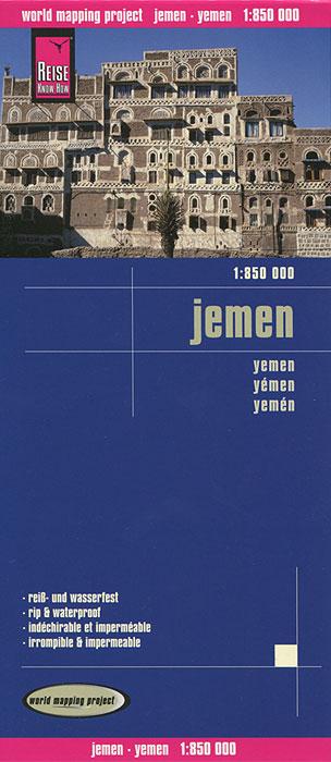 Jemen. Карта