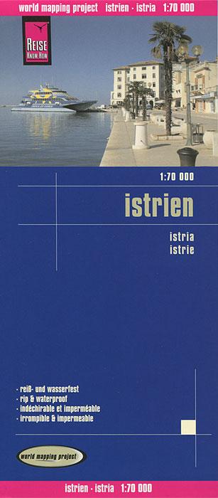 Istria. Карта.