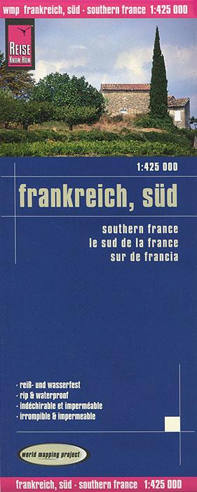 France, sud. Карта.