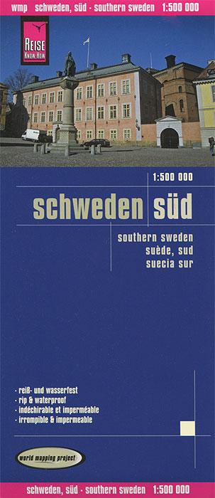 Schweden, Sud. Карта