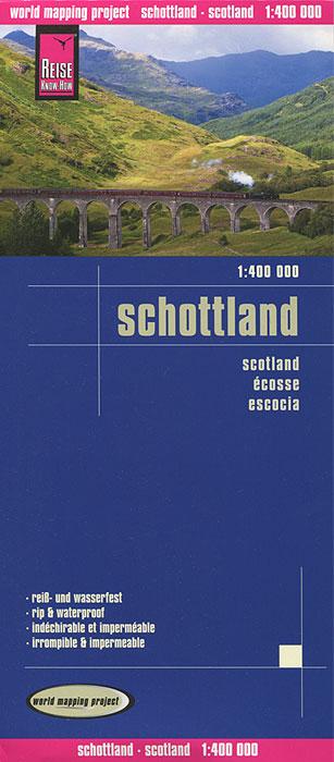 Schottland. Карта.