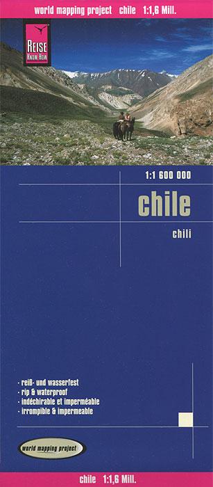 Chile. Карта