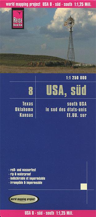 USA 8. Sud. Карта