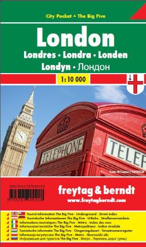 Лондон. Карта.