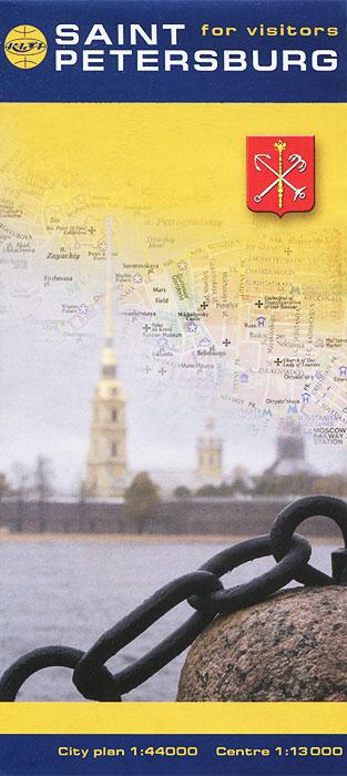 Saint-Petersburg for Vizitors. Карта
