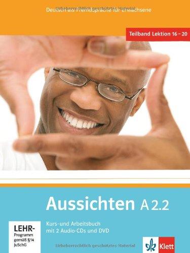 Kurs- und Arbeitsbuch, m. 2 Audio-CDs u. 1 DVD