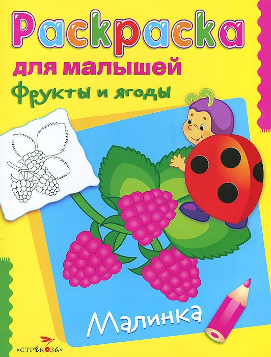 Фрукты и ягоды. Малинка