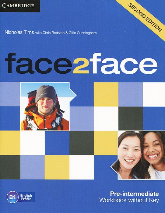 Face2Face: Pre-intermediate Workbook without Key