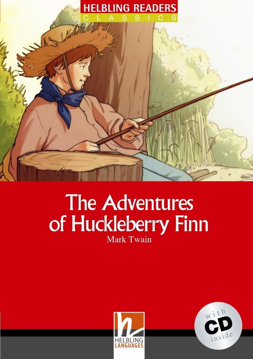 The Adventures of Huckleberry Finn + CD (Level 3) by Mark Twain