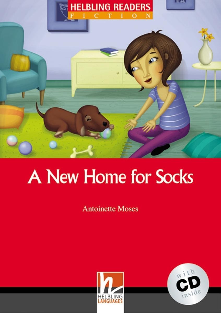A New Home for Socks + CD (Antoinette Moses) level 1