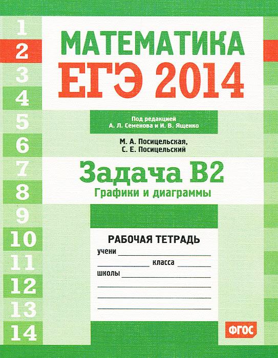 ЕГЭ 2014. Математика. Задача В2. Графики и диаграммы. Рабочая тетрадь
