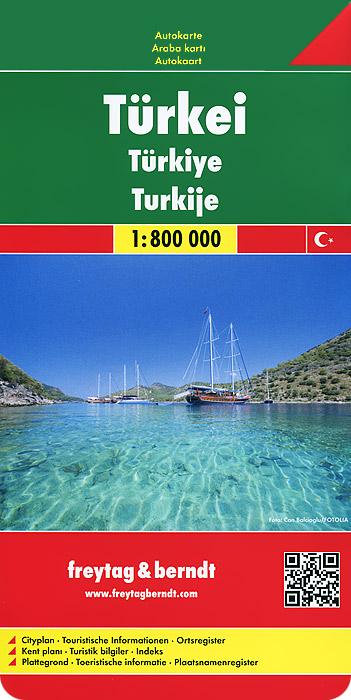 Turkei: Autokarte
