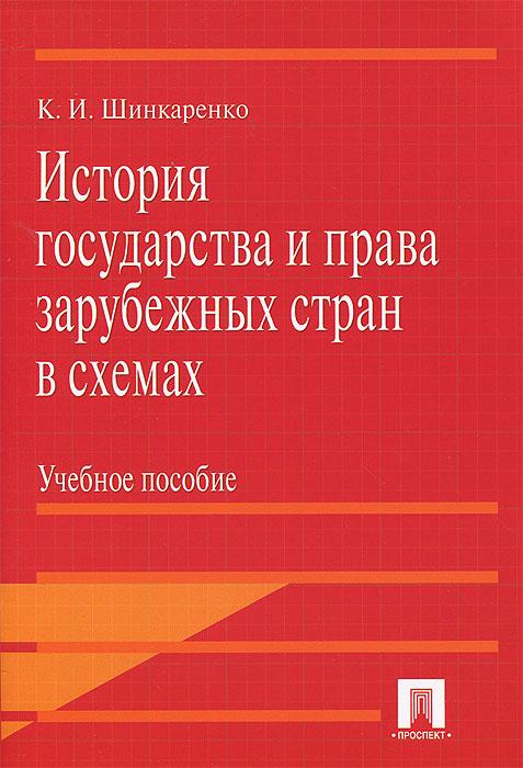 История государства и права зарубежных стран в схемах
