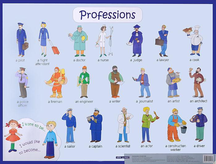 Профессии / Professions. Наглядное пособие для начальной школы