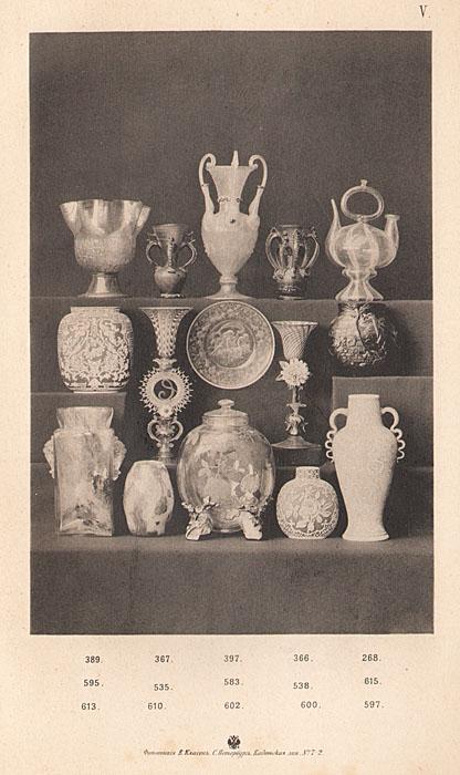 Каталог предметов стеклянного искусства и живописи на стекле