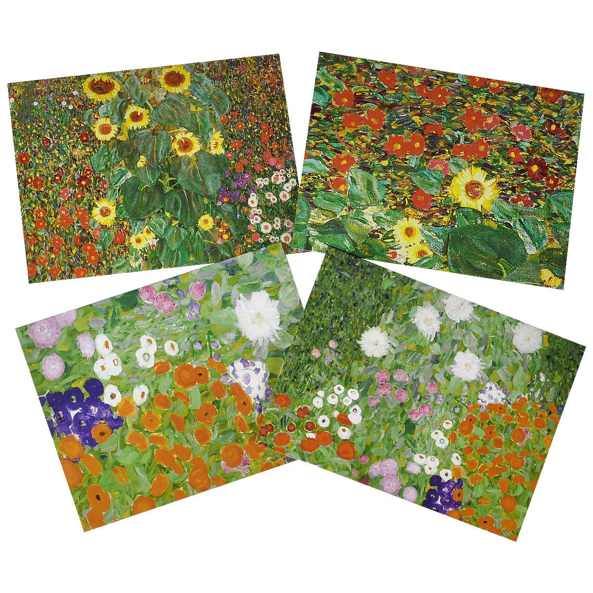 Gustav Klimt Garden: Portfolio Notes