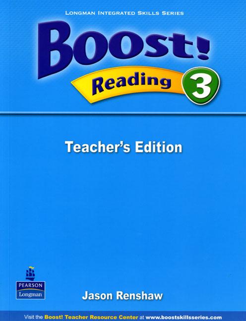 Boost! Level 3 Reading Teacher's book