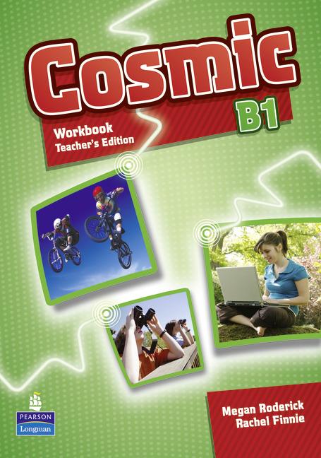 Cosmic Level B1 Workbook Teacher's Edition & Audio CD Pack