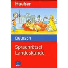 Sprachratsel Deutsch - Landeskunde