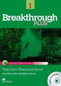 Breakthrough Plus Level 1 Teacher's Book + Digibook Code + Test Generator