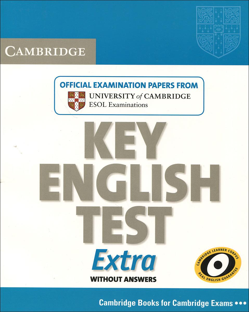 Cambridge: Key English Test: Extra: Student's Book
